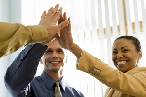 Teamwork. [url=http://www.istockphoto.com/file_search.php?action=file&lightboxID=5793267][IMG]http://www.stevecole.com/_ISP_Business.JPG[/IMG][/url]